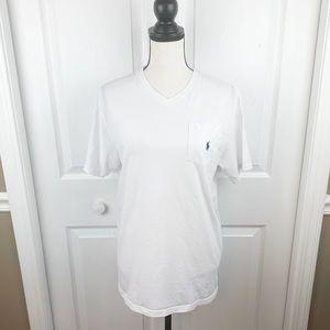 Classic V Neck Pocket T-Shirt Polo Ralph Lauren